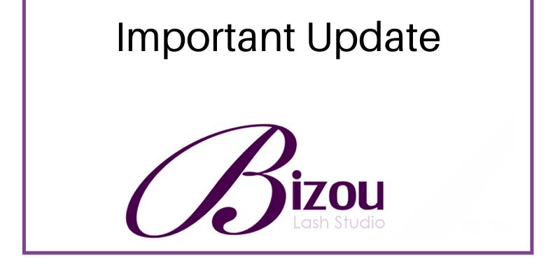 Bizou Important Update for COVID-19